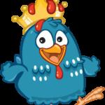 Galinha Pintadinha Coroa