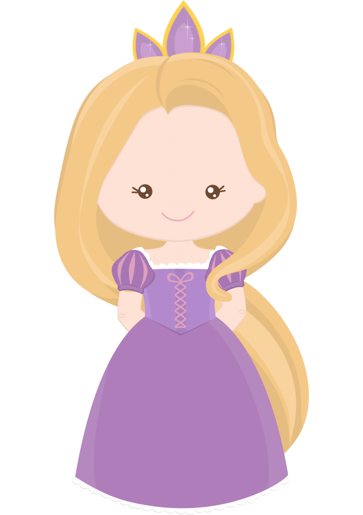Princesa Disney Rapunzel Cute