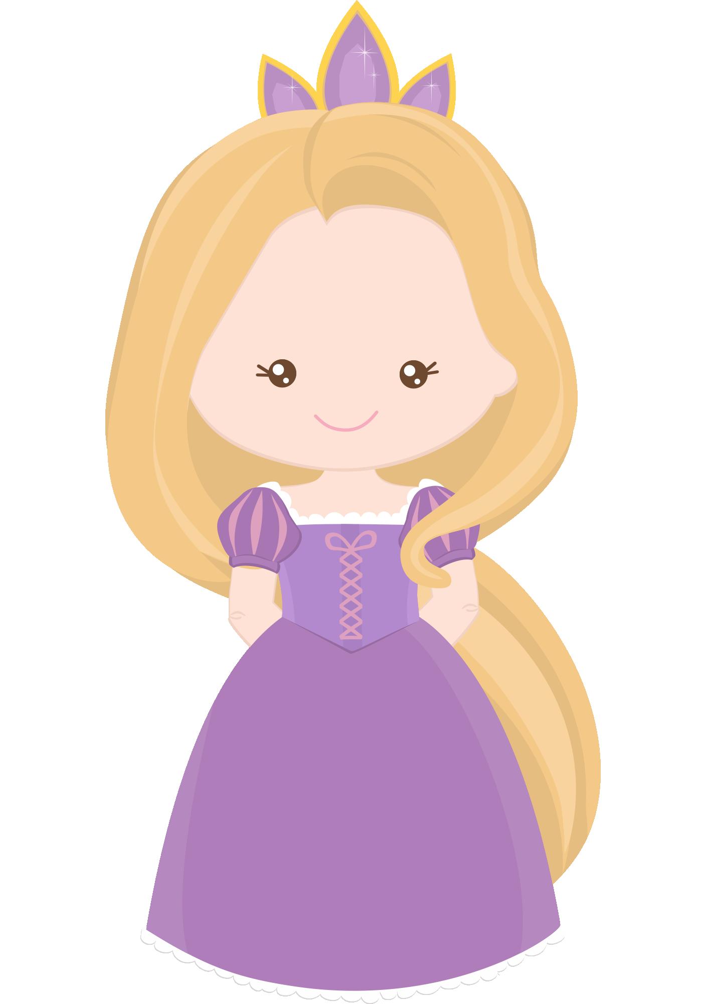 Princesa Disney Rapunzel Cute