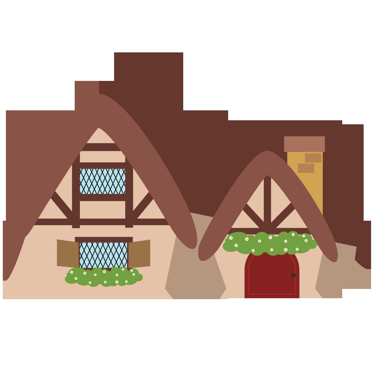 Branca De Neve Cute Casa Sete Anões 03