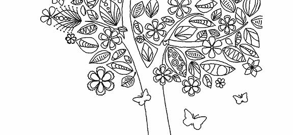 Flores Florestas E Jardins Para Colorir Imagens Png