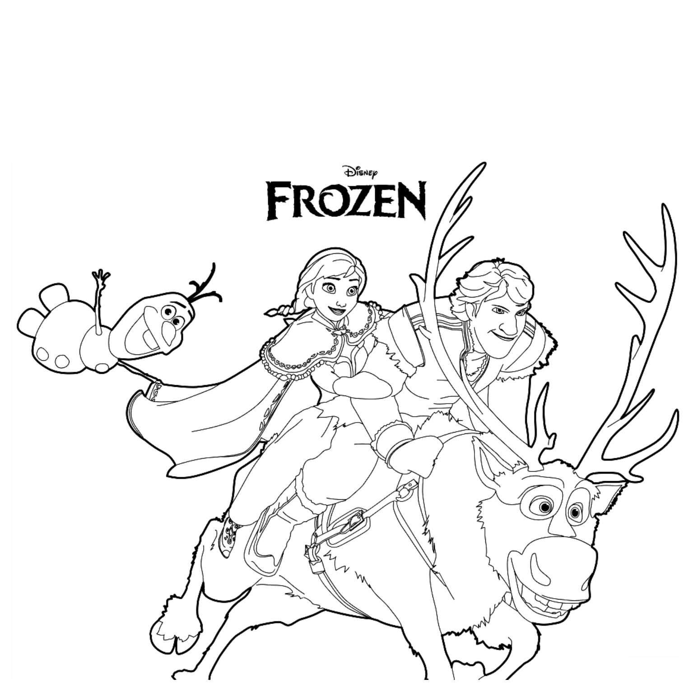 Frozen Colorir 21 Imagens Png