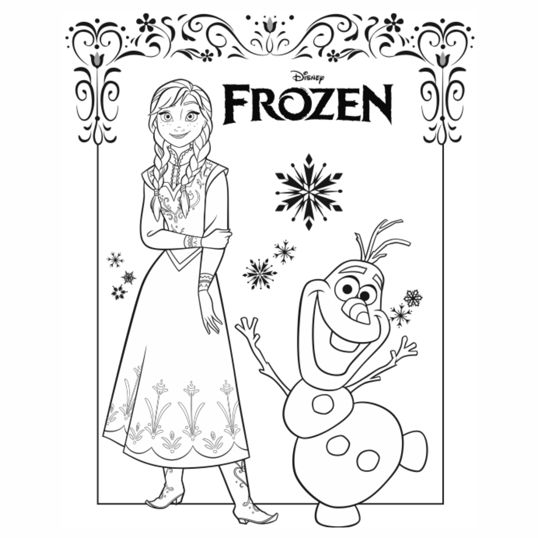 Frozen Colorir 41 Imagens Png