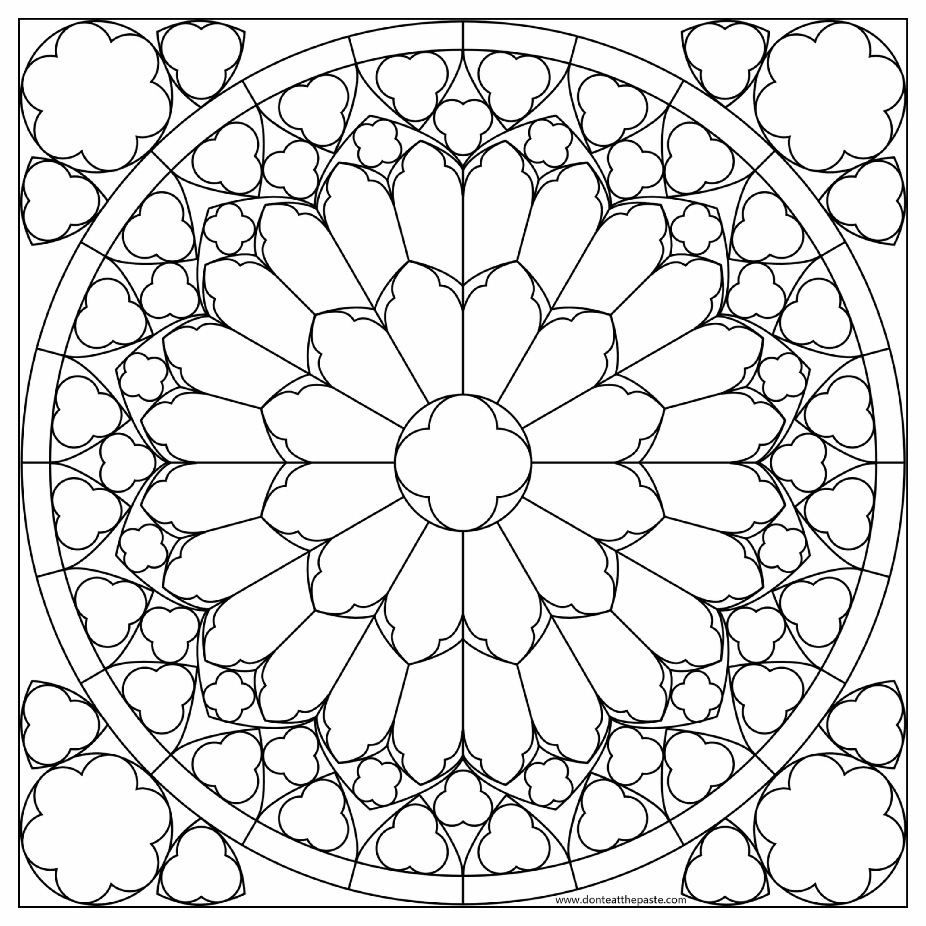 Mandalas para Colorir Imagens