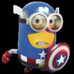 Minions 37 Capitão América