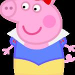 Peppa Pig Branca de Neve 01