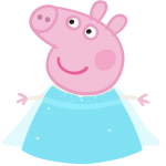 Peppa Pig Elsa Frozen 01