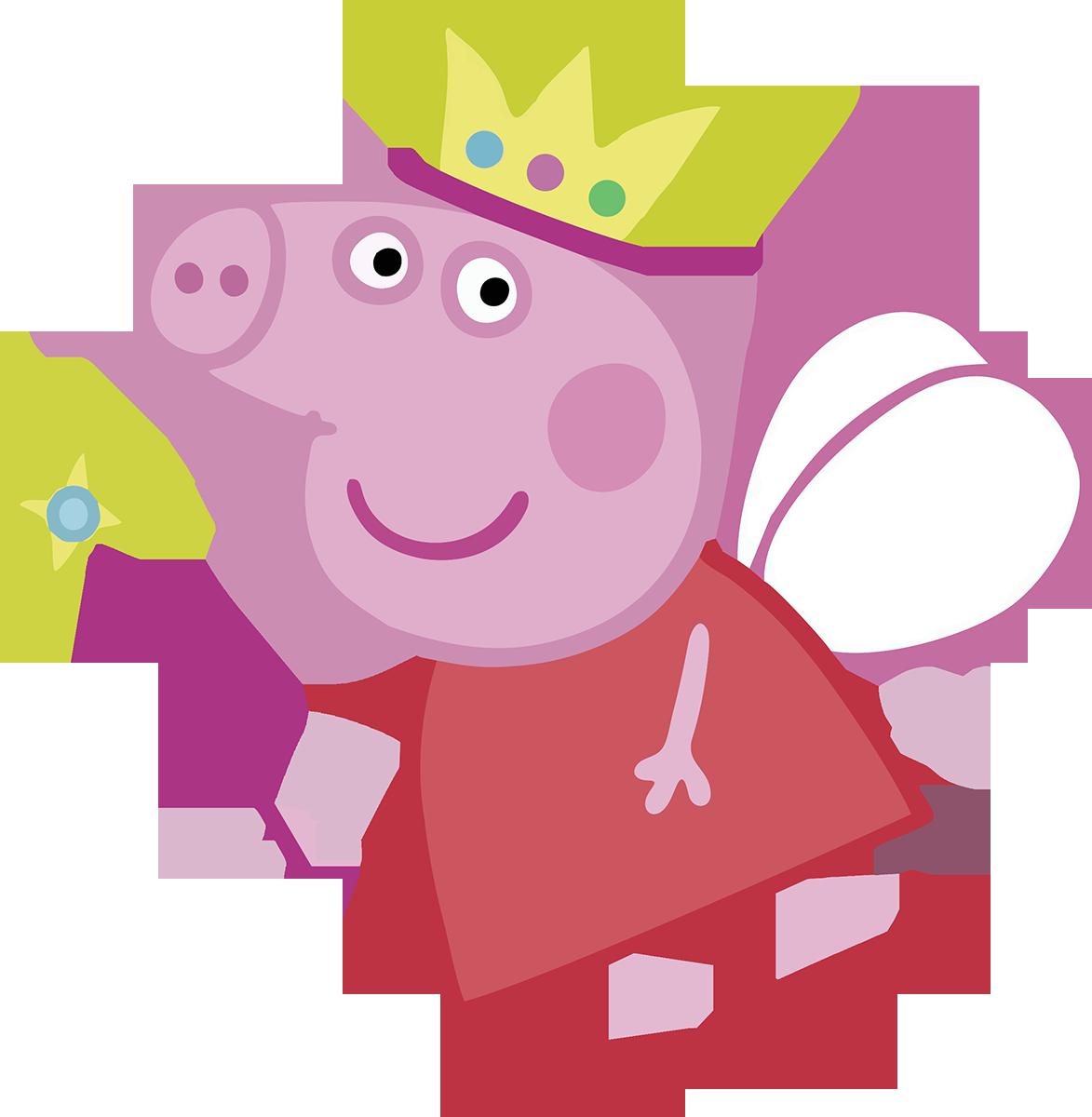 Família Peppa Pig - 4 peças