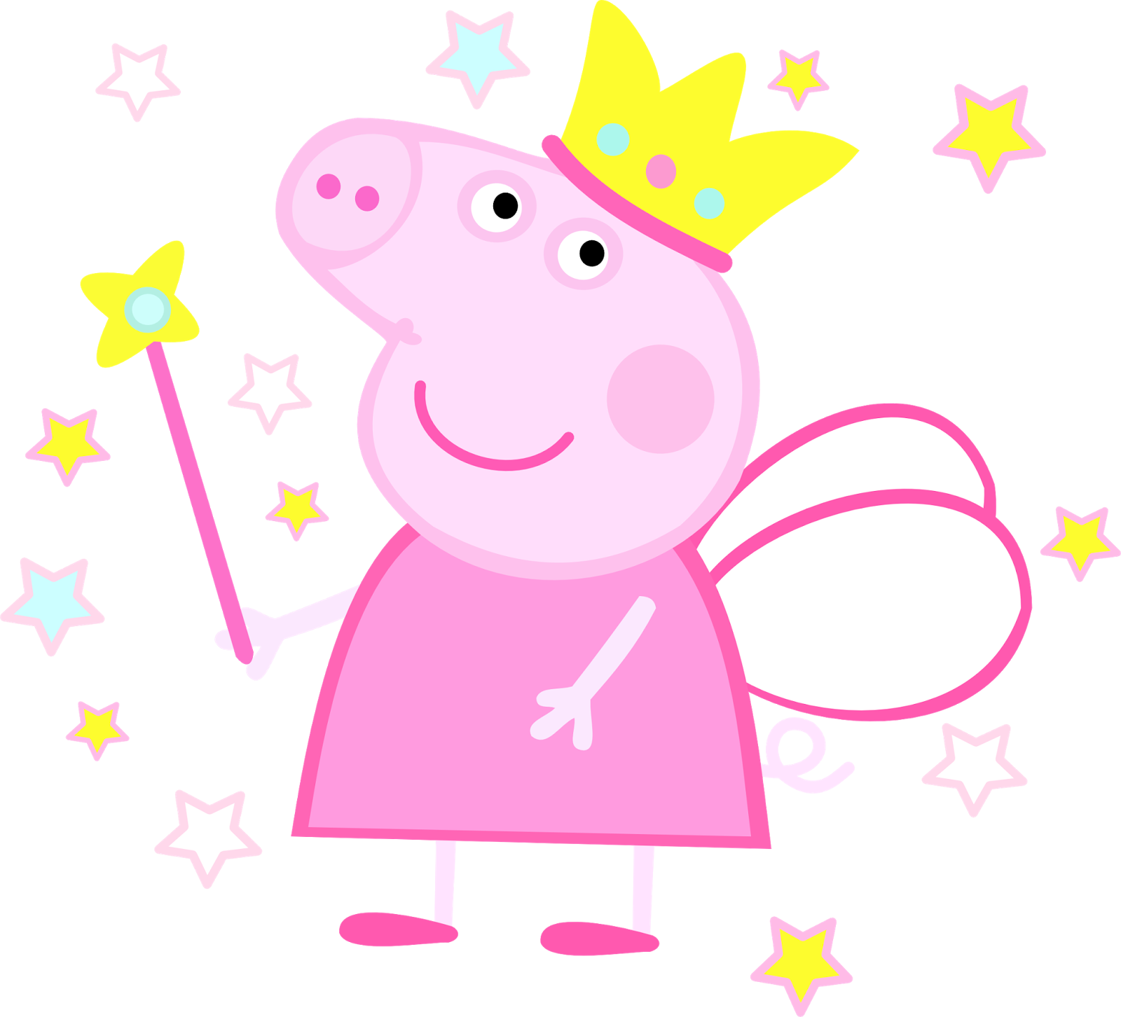 Peppa Pig Fada 02 Imagens PNG