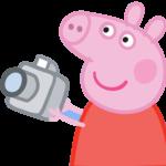 Peppa Pig Fotografando 01