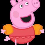Peppa Pig Praia Piscina 01