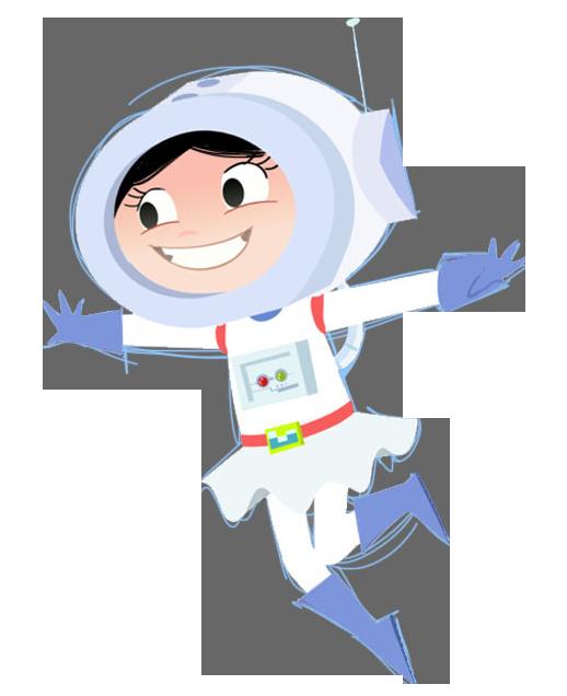 O Show Da Luna Luna Astronauta 01 Imagens Png