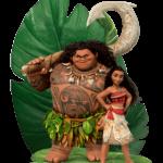 Moana e Maui