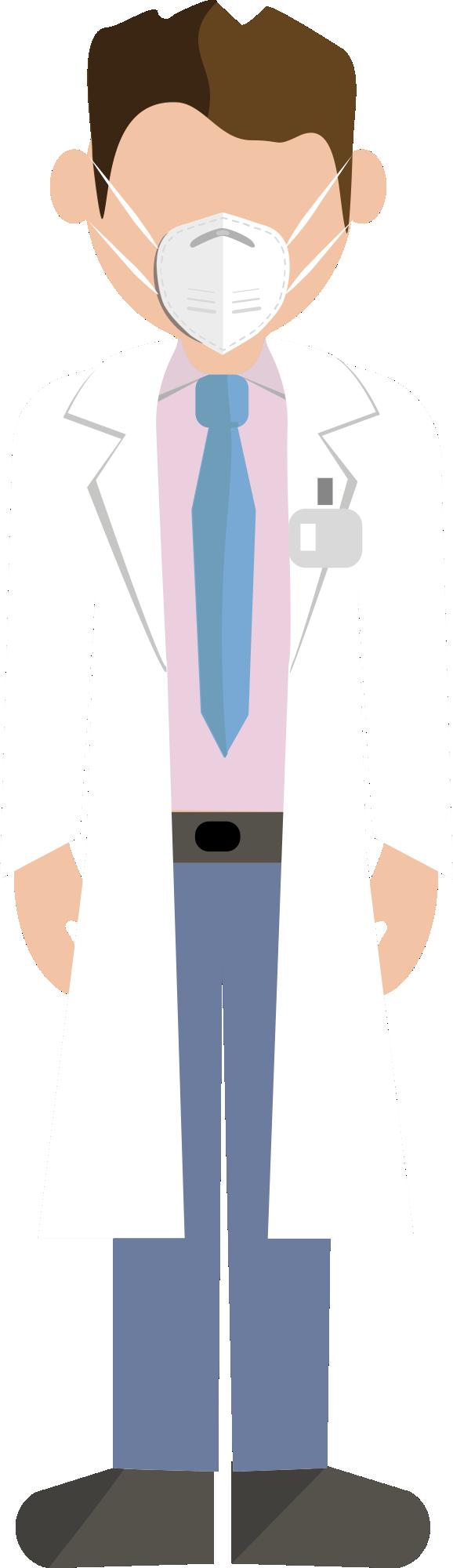 Coronavirus - Profissional da Saúde PNG 87