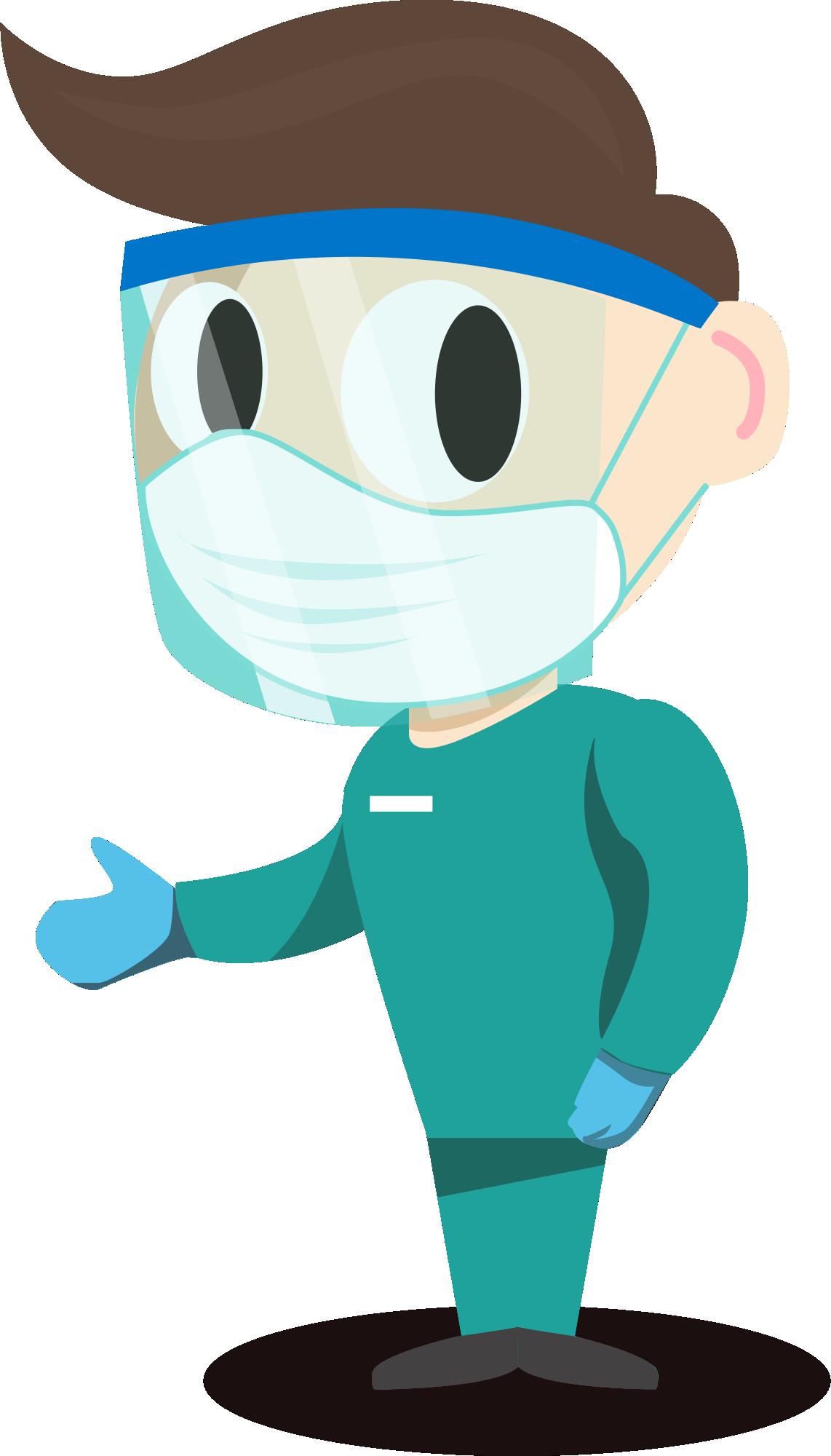 Coronavirus - Profissional da Saúde PNG 95