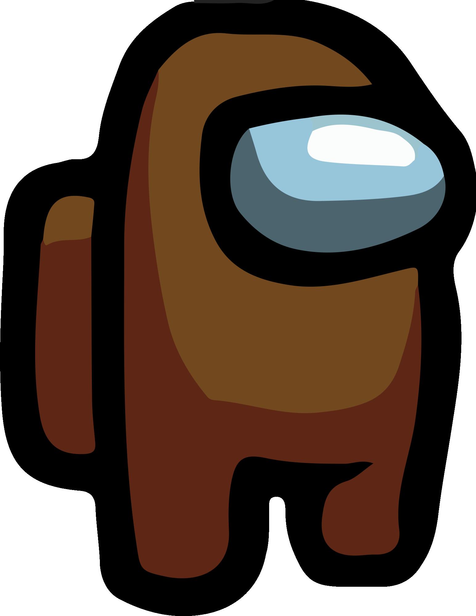 Among Us - Brown PNG 01 - Imagens PNG